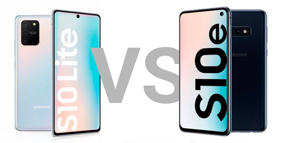 Comparativa Galaxy S10 Lite vs S10e