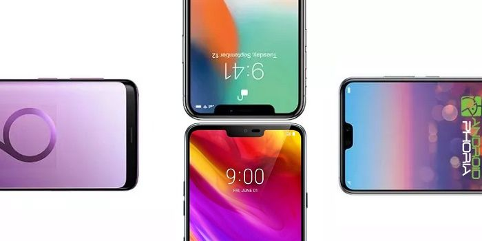 Comparativa LG G7 vs Galaxy S9+ vs iPhone X vs Huawei P20 Pro