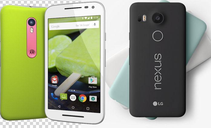 Comparativa: Moto G 2015 vs Nexus 5X