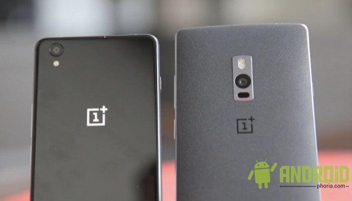 Comparativa OnePlus X vs OnePlus 2