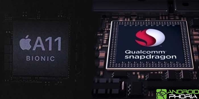 Comparativa Qualcomm vs Bionic A11