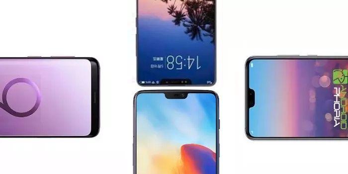Comparativa Xiaomi Mi 8 vs Galaxy S9 Plus vs Huawei P20 Pro vs OnePlus 6