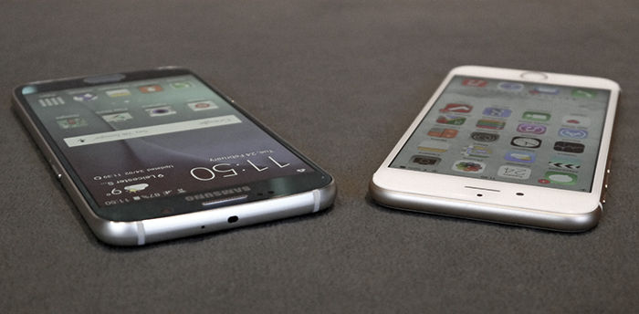 Comparativa camara s6 vs iphone 6
