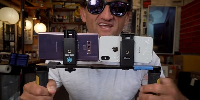 Comparativa grabación Galaxy Note 9 vs iPhone X