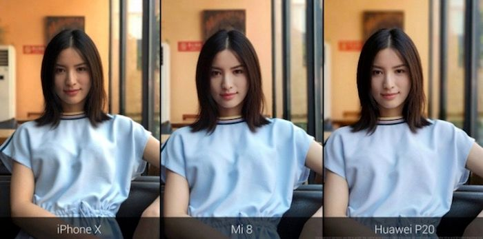 Comparativa otras camaras Xiaomi Mi 8