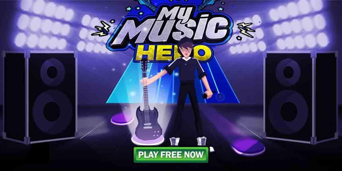 Comparte con tus amigos mientras juegas Guitar Music Hero