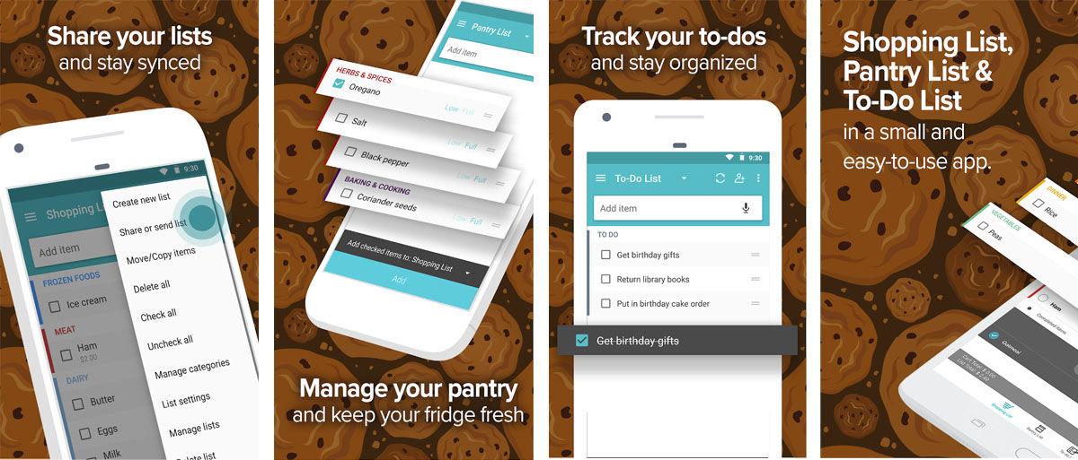 Comparte la lista de la compra con todos tus compañeros de piso con la app OutOfMilk