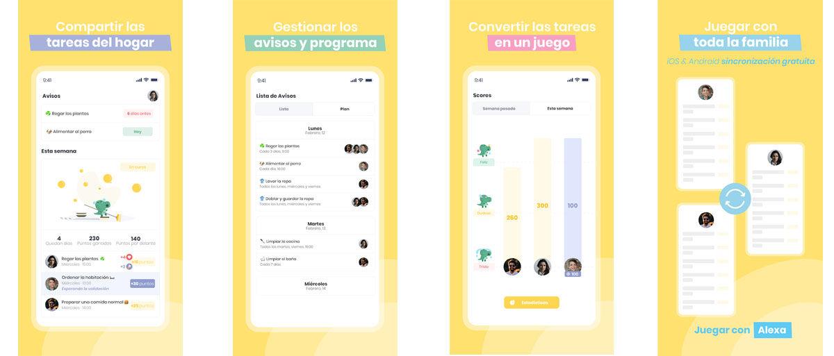 Comparte las tareas domésticas en un juego con esta aplicación Android para compañeros de piso