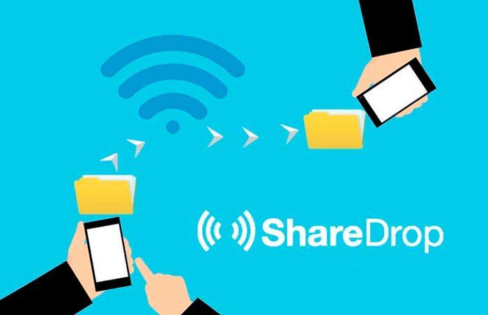 Compartir archivos con ShareDrop