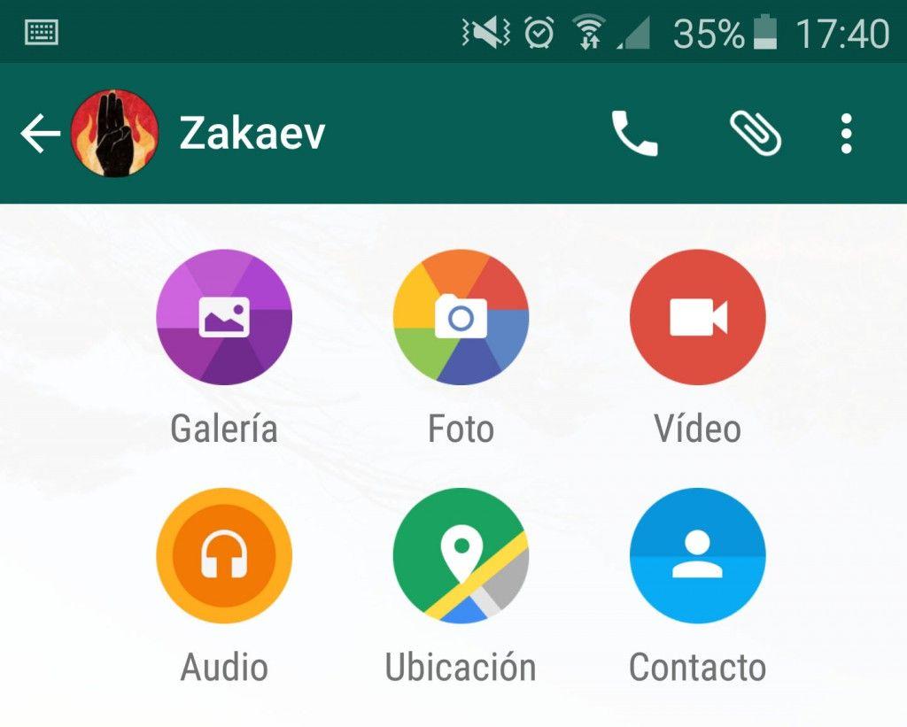 Compartir nuevo WhatsApp