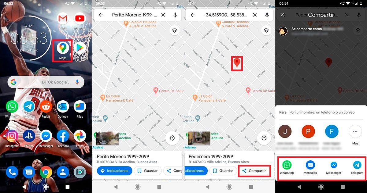 Compartir ubicacion sin GPS android