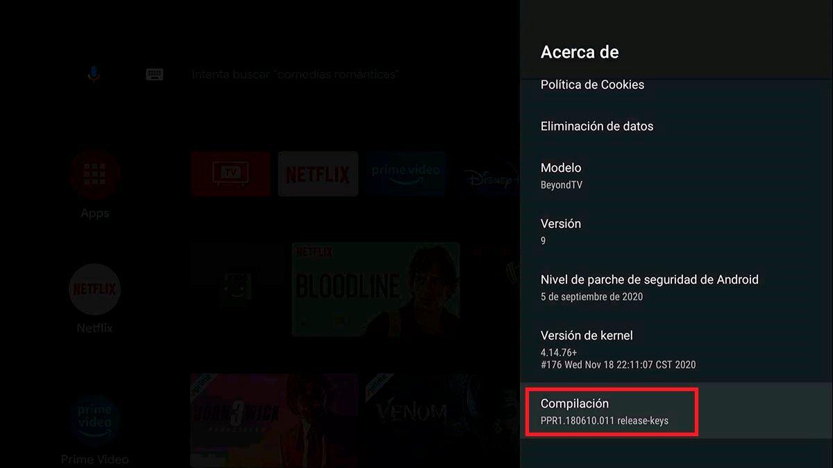 Compilacion Android TV