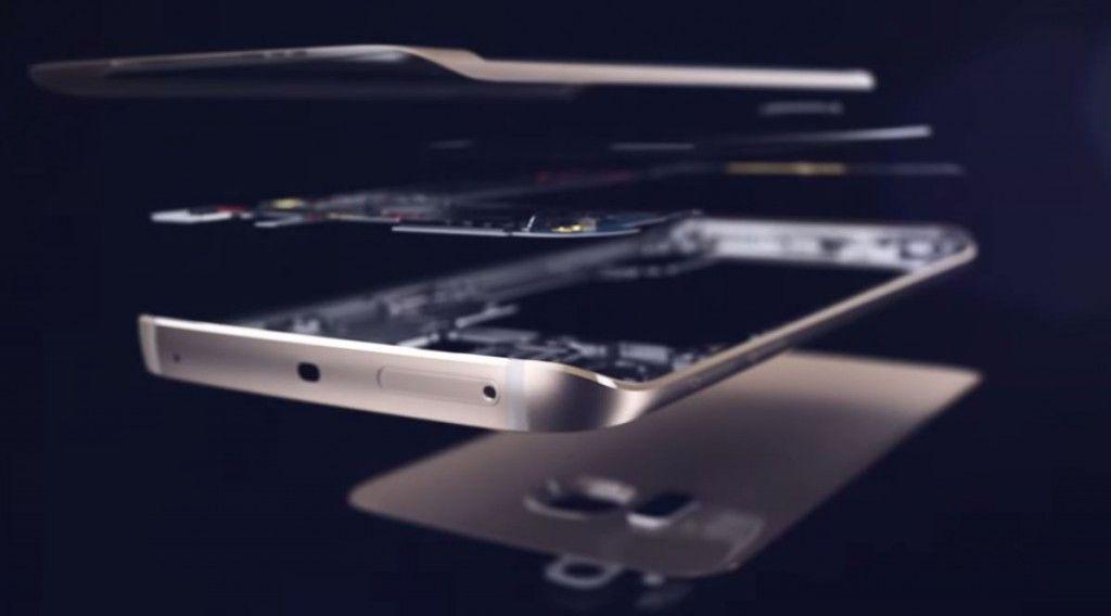 Componentes del Galaxy S6 Edge