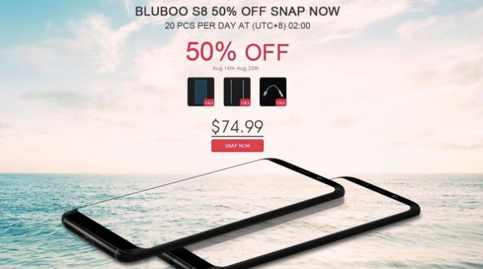 Comprar Bluboo S8 barato