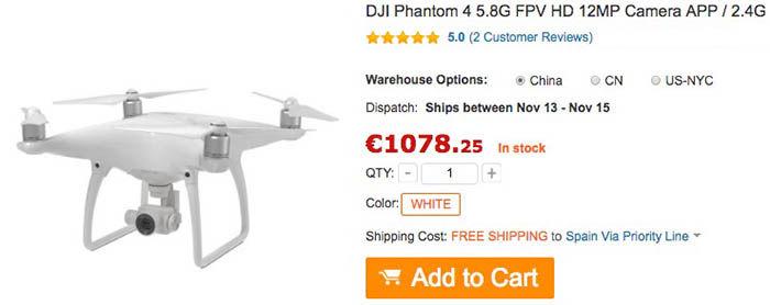 comprar-dji-phantom-4-al-mejor-precio