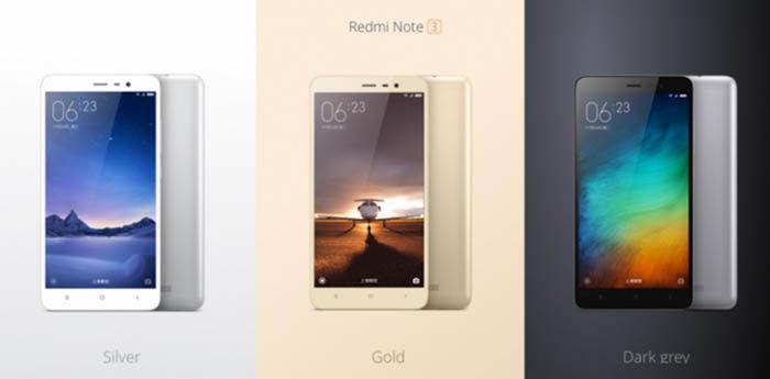 Comprar RedMi Note 3
