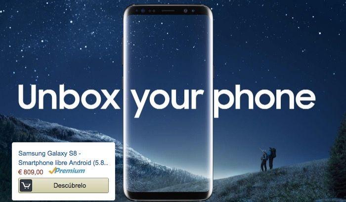 Comprar Samsung Galaxy S8 en Espana