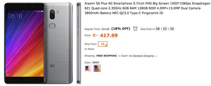 comprar-xiaomi-mi-5s-mejor-precio-tomtop