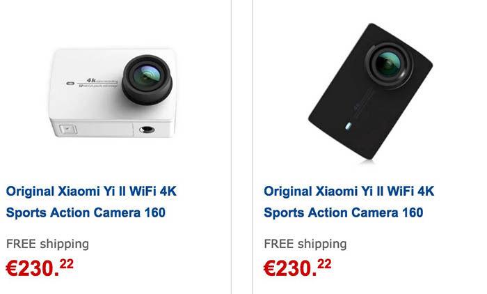 Comprar Xiaomi Yi 4K en GearBest