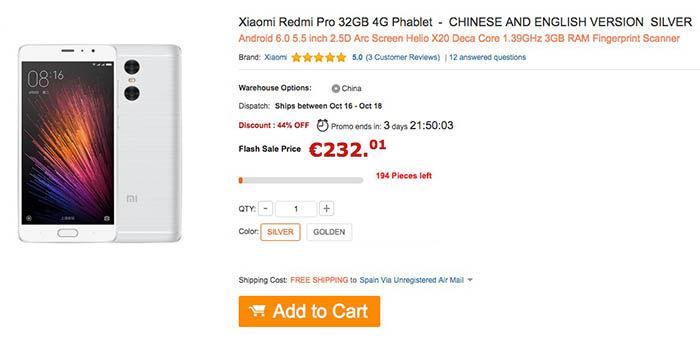 comprar-oferta-xiaomi-redmi-pro