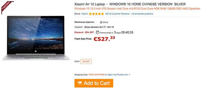 comprar-portatil-xiaomi-barato