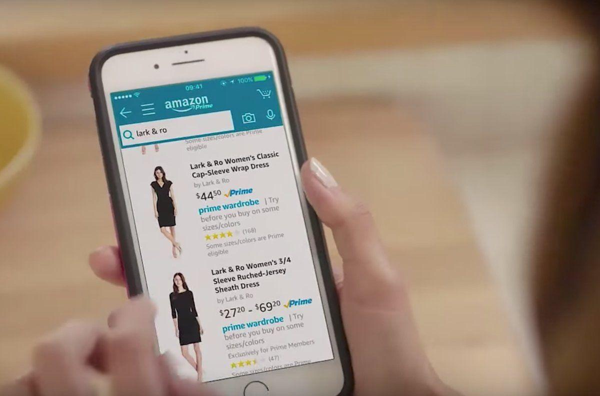 Comprar ropa online por Amazon con devoluciones gratuitas de todos los artículos que quieras con Prime Wardrobe