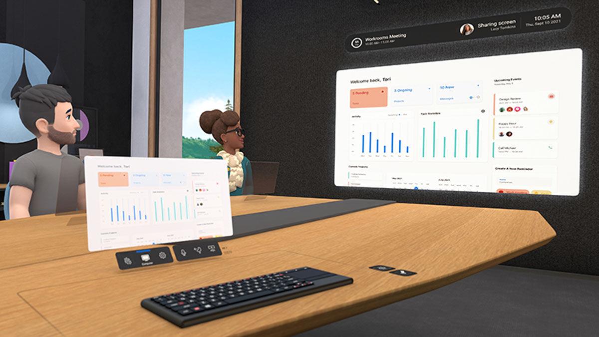 Con Horizon Workrooms, exponer tus proyectos, tomar notas y asistir reuniones del trabajo en realidad aumentada es posible y gratis