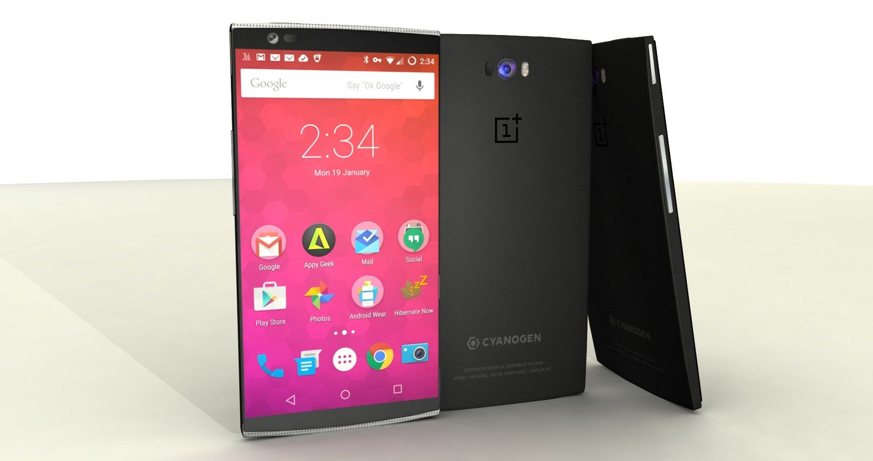 Concepto OnePlus Two