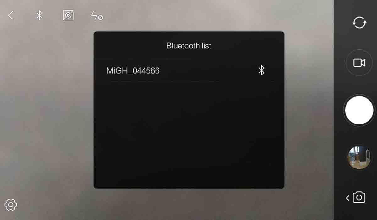Conecta el gimbal con la aplicación de Xiaomi