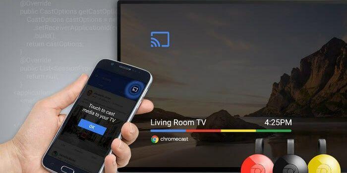 Conectar Android a Chromecast TV