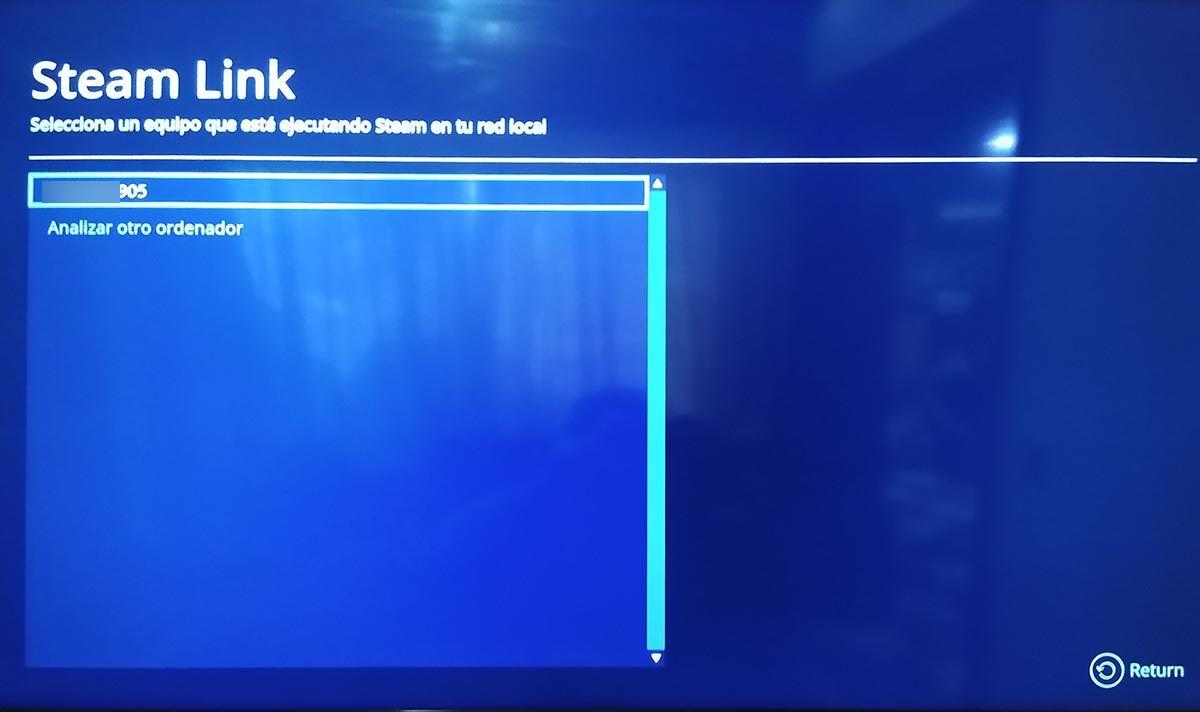 Conectar Steam Link Samsung