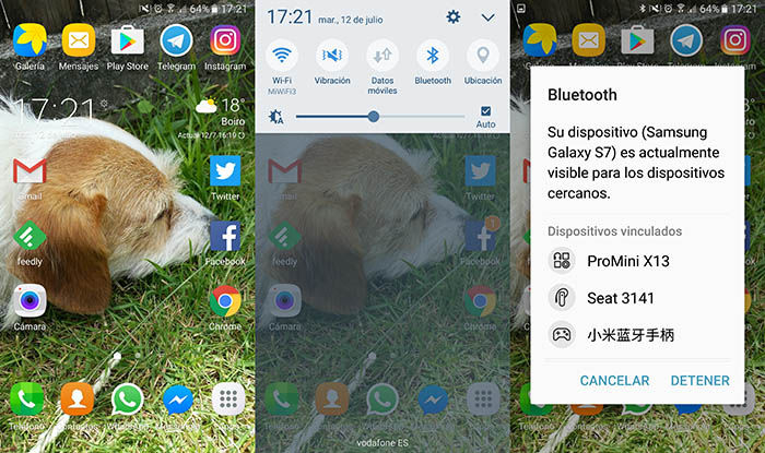 Conectar altavoz bluetooth Android