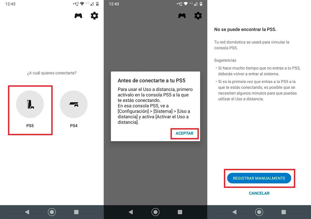 Conectar movil con PS5