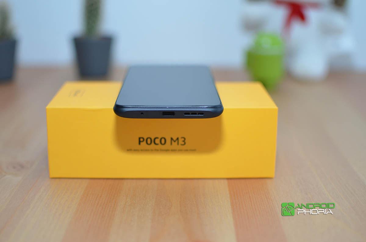 Conector USB C Poco M3
