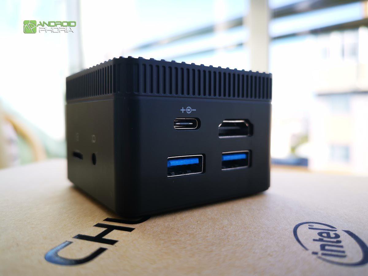 Conexiones Chuwi Larkbox