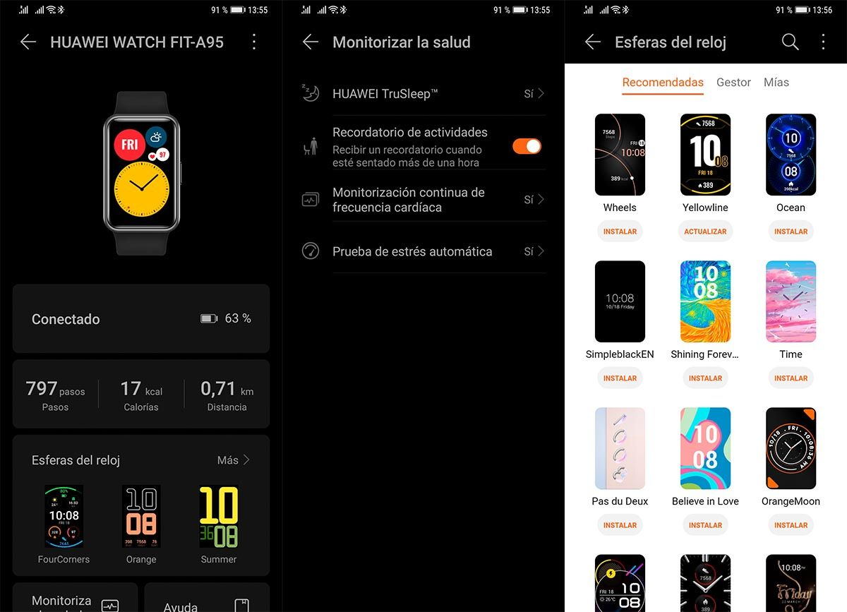 Configurar Huawei Watch Fit