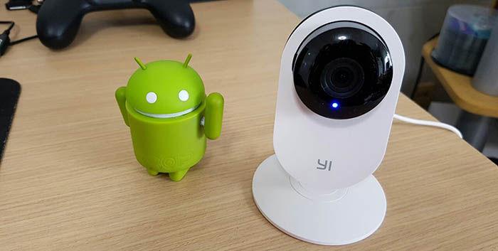 Configurar Yi Home Camera