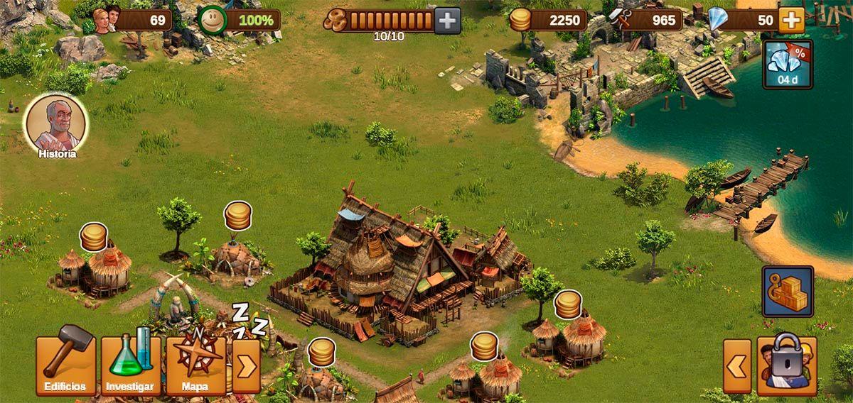 Conseguir monedas y diamantes gratis Forge of Empires