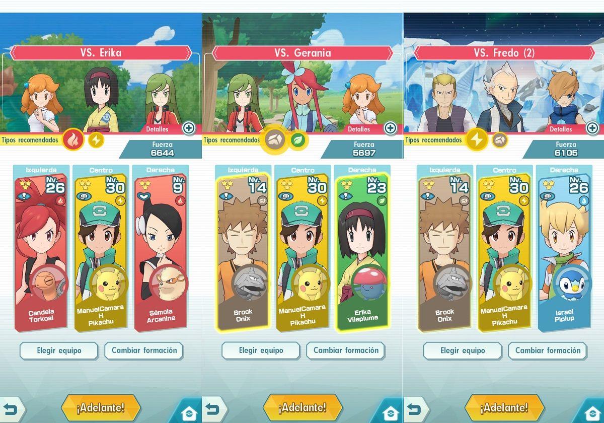 Consejos para ganar las medallas en Pokémon Masters