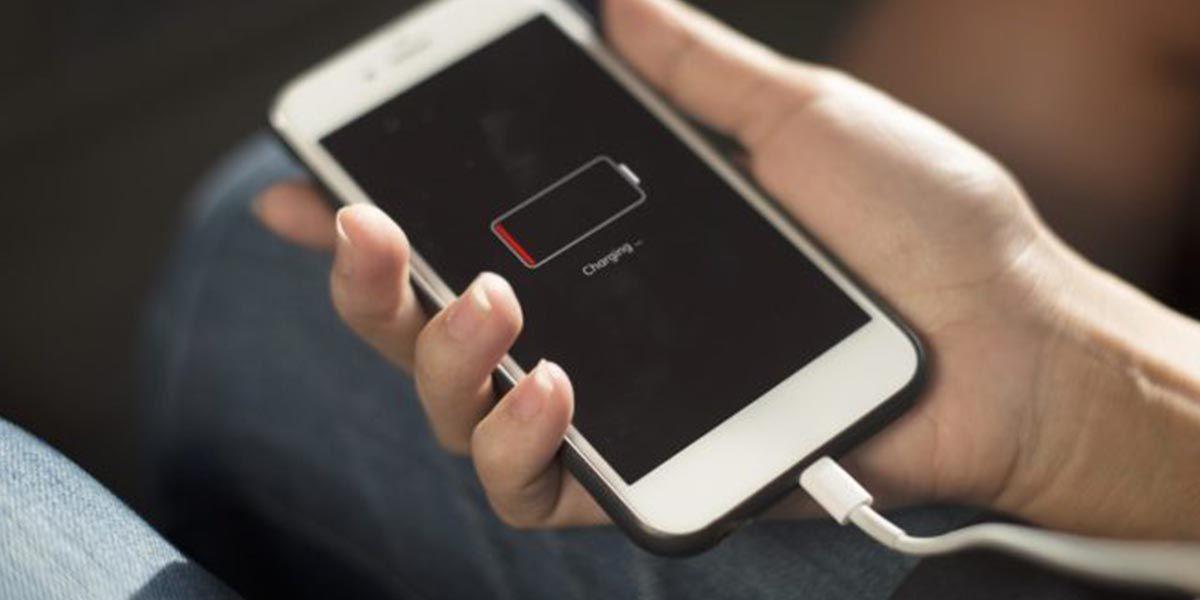 Consumo de batería app concreta