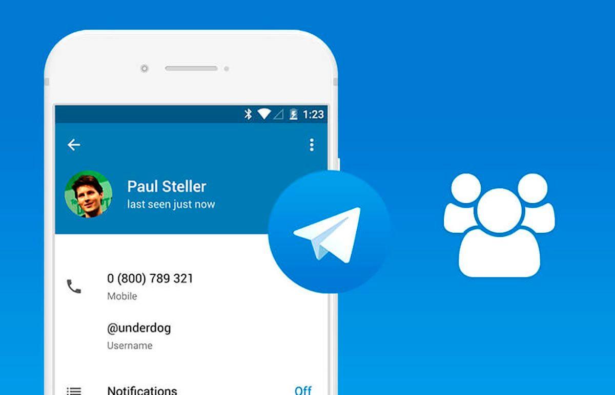 Contactar con el soporte de Telegram