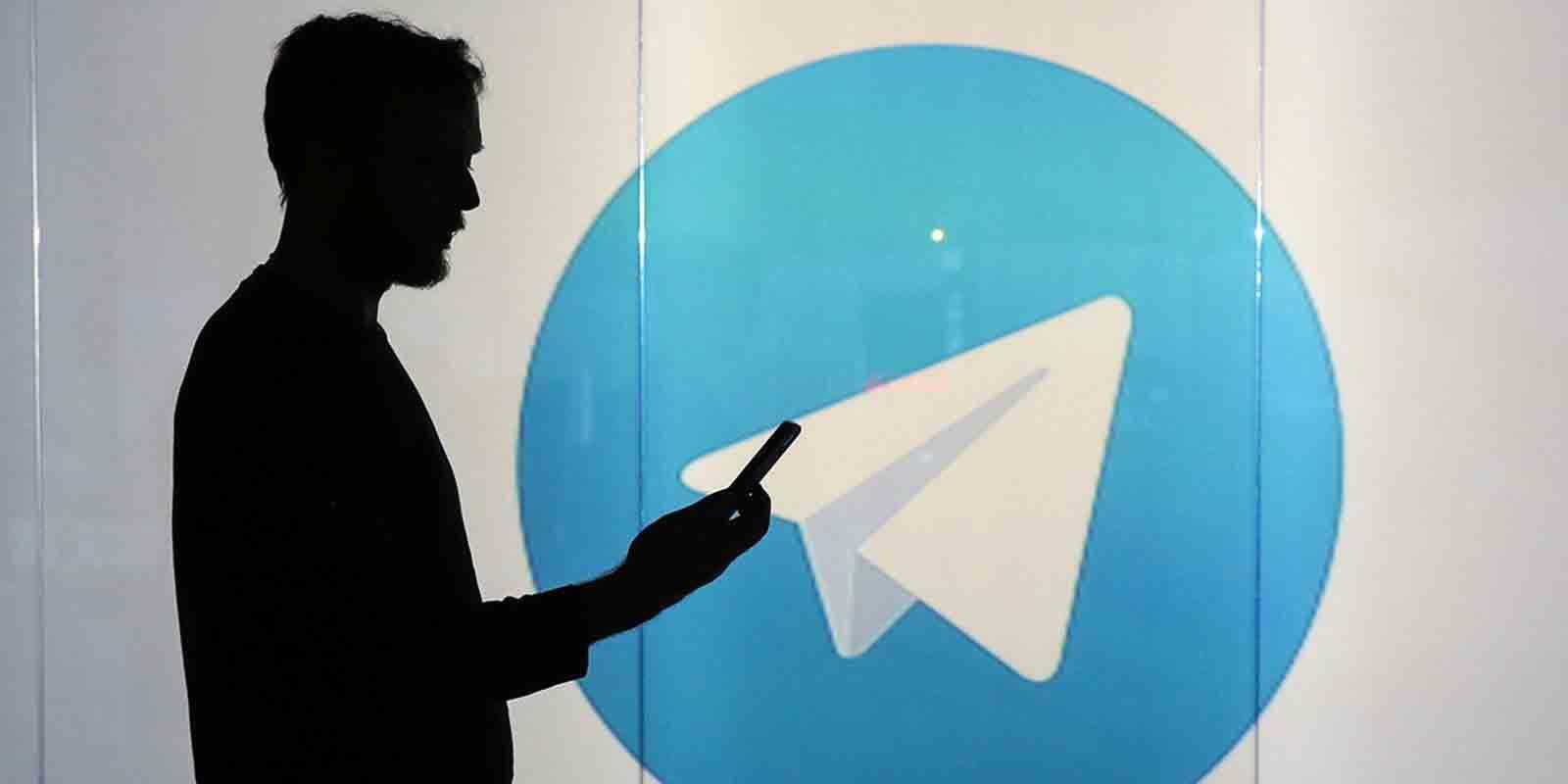 Contactos desconocidos en Telegram