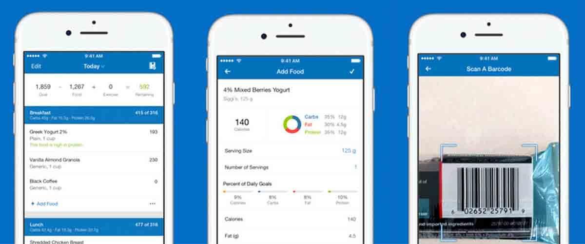 Contador calorías app Android dieta