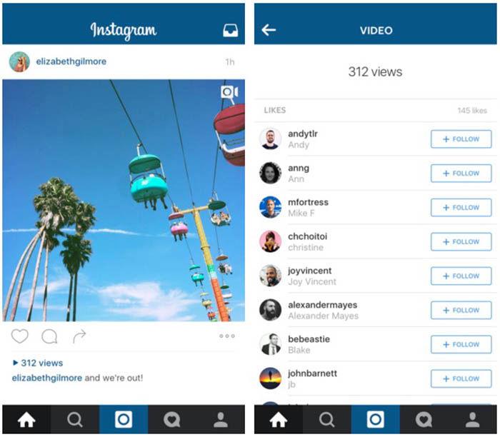Contador de visualizaciones Instagram