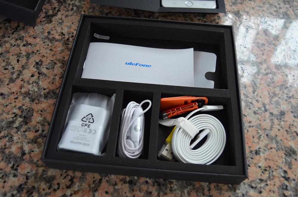 Contenido caja Ulefone Be Touch 2