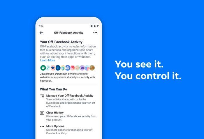 Controlar actividad de Facebook