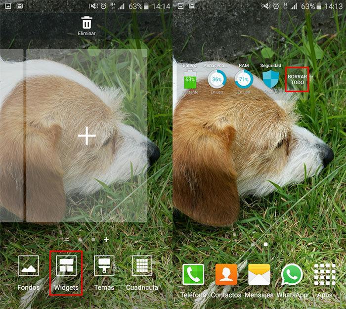 Controlar uso RAM Galaxy S6