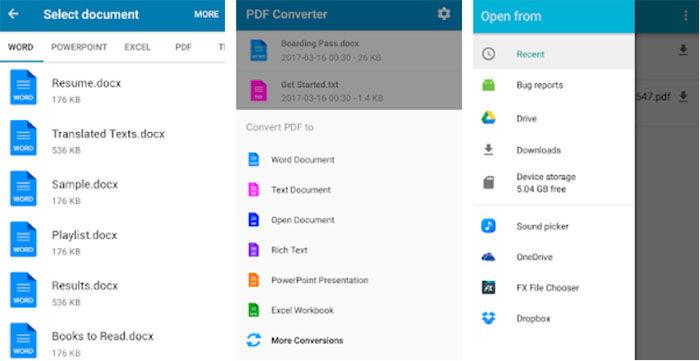 Conversor PDF para Android