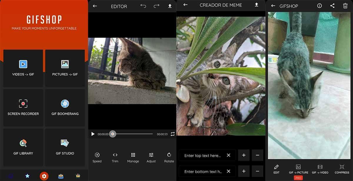 Convierte tus fotos y vídeos en gifs con GIF Maker