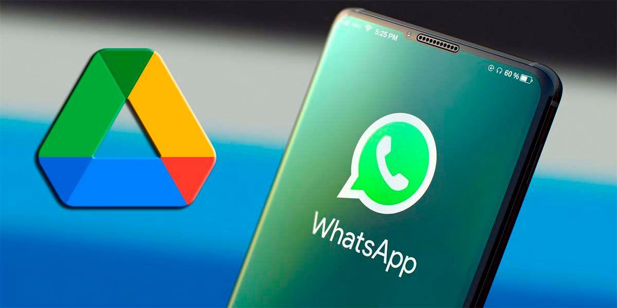 Copia de seguridad WhatsApp ocupará espacio Google Drive